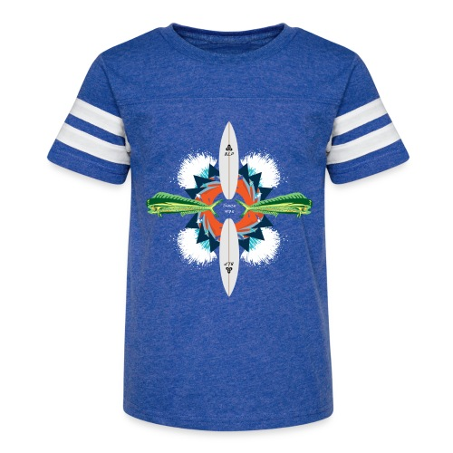 BLP Waves - Kid's Vintage Sport T-Shirt