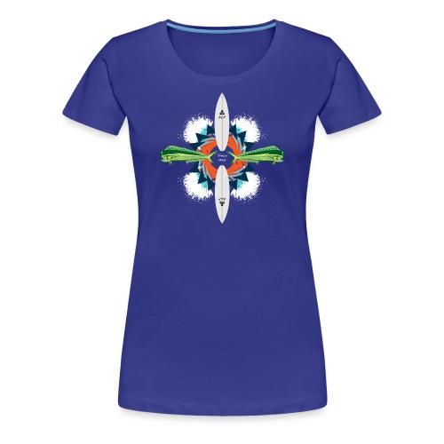 BLP Waves - Women's Premium T-Shirt