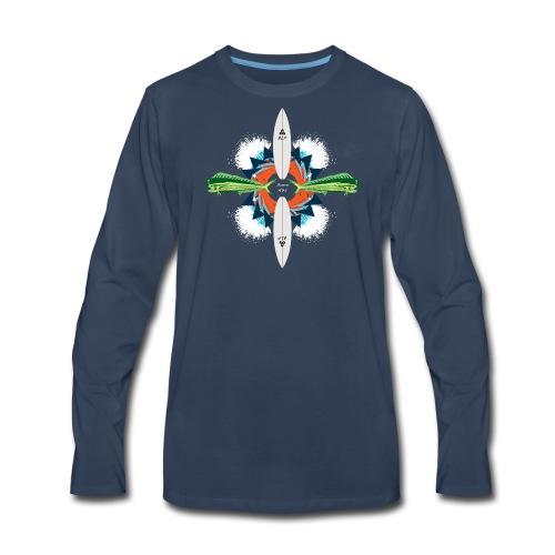 BLP Waves - Men's Premium Long Sleeve T-Shirt