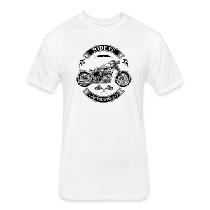 Ride It - Fitted Cotton/Poly T-Shirt by Next Level