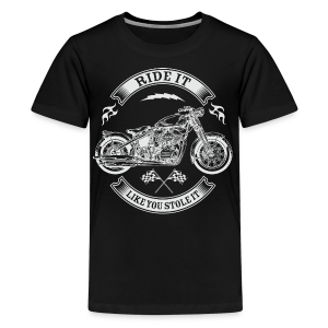 Ride It_revers - Kids' Premium T-Shirt