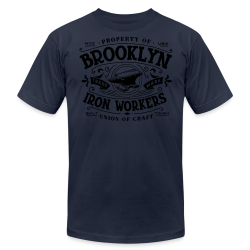 Union Iron - Men's Fine Jersey T-Shirt