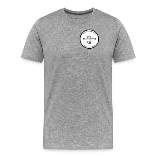 MC Grey Crew Neck - Men's Premium T-Shirt