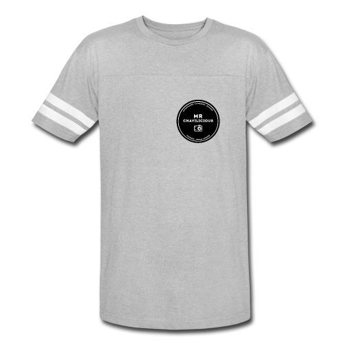 MC Grey Base Ball Tee - Vintage Sport T-Shirt