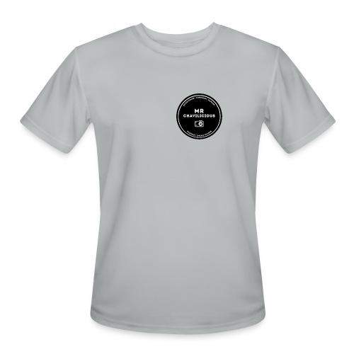 MC Grey Base Ball Tee - Men's Moisture Wicking Performance T-Shirt