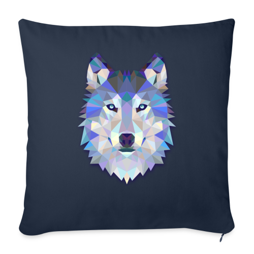Wolf Abstract - Throw Pillow Cover
