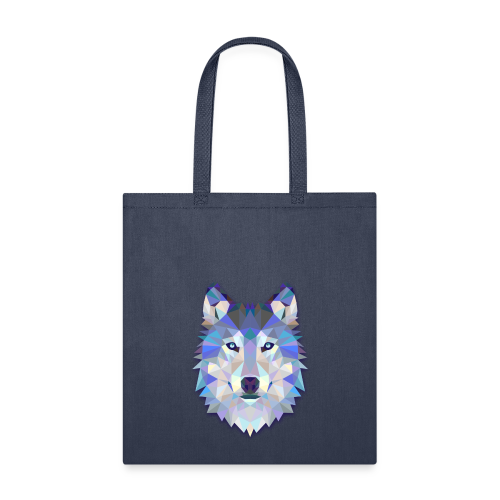 Wolf Abstract - Tote Bag