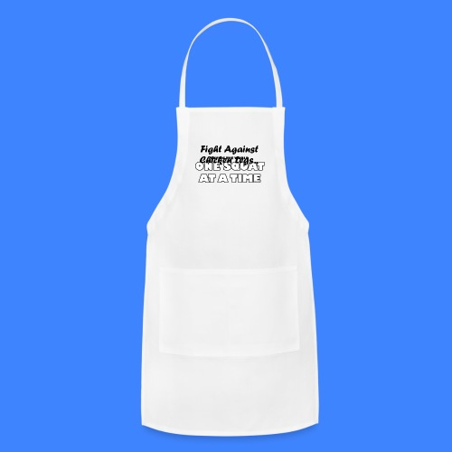 One Squat At A Time (female) - Adjustable Apron