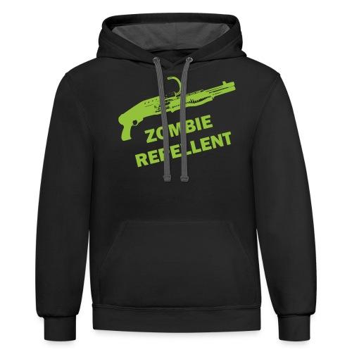 Zombie Repellent - Contrast Hoodie
