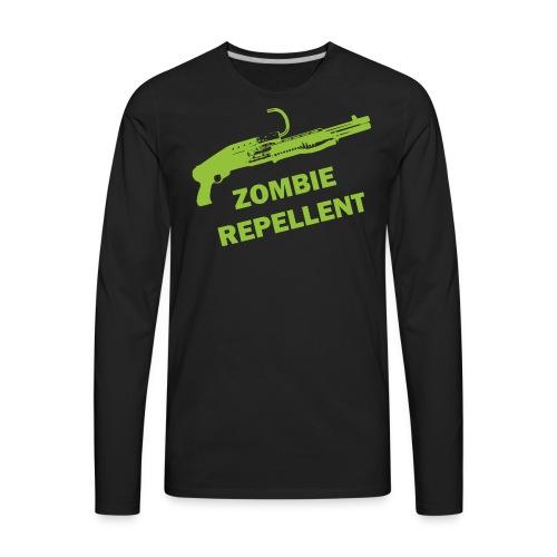 Zombie Repellent - Men's Premium Long Sleeve T-Shirt