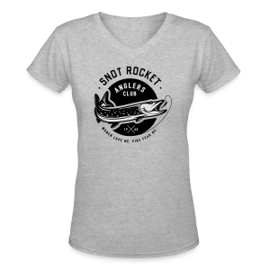 Snot Rocket - Women's V-Neck T-Shirt