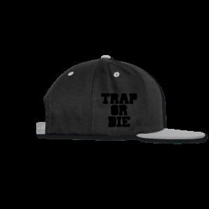 Trap or Die Leggings (White) - Snap-back Baseball Cap