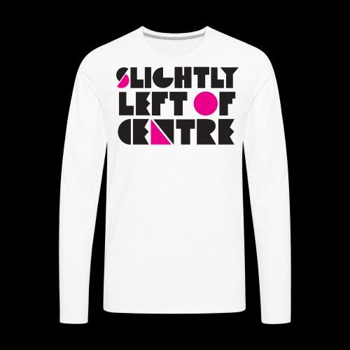 SLC T-Shirt White - Men's Premium Long Sleeve T-Shirt