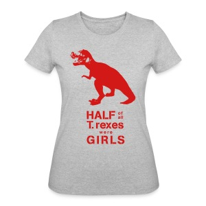 T.rex Fitted Tee - Women's 50/50 T-Shirt