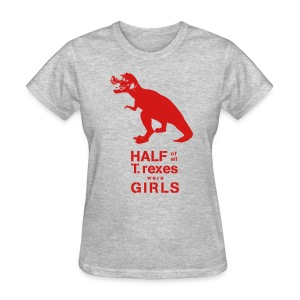T.rex Fitted Tee - Women's T-Shirt
