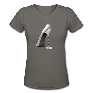 Screw him!  - Women's V-Neck T-Shirt
