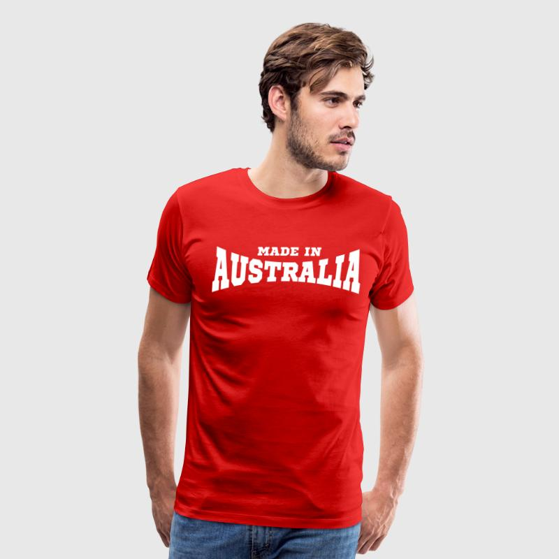 Made In Australia T-Shirts - Men's Premium T-Shirt