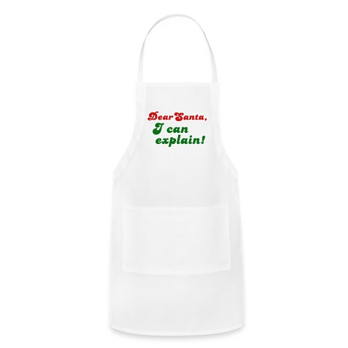 Dear Santa, - Adjustable Apron
