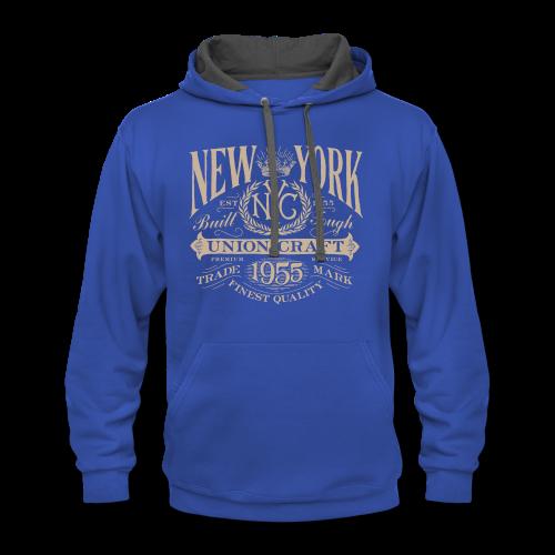 NYC Union Craft_cream - Contrast Hoodie