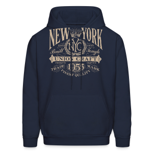 NYC Union Craft_cream - Men's Hoodie
