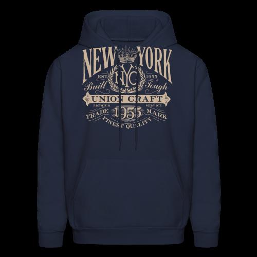 NYC Union Craft_cream - Men's Hoodie