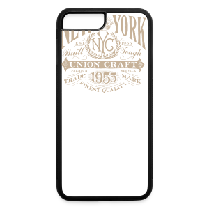 NYC Union Craft_cream - iPhone 7 Plus/8 Plus Rubber Case