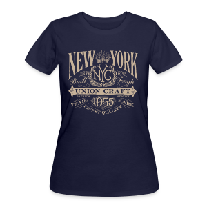NYC Union Craft_cream - Women's 50/50 T-Shirt