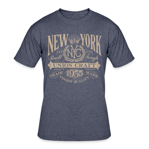 NYC Union Craft_cream - Men's 50/50 T-Shirt