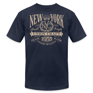 NYC Union Craft_cream - Men's T-Shirt by American Apparel