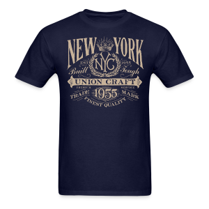 NYC Union Craft_cream - Men's T-Shirt