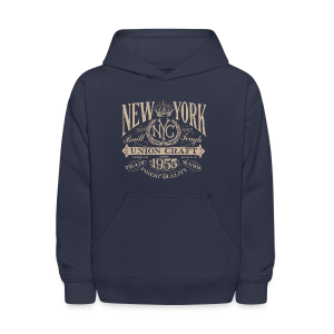 NYC Union Craft_cream - Kids' Hoodie