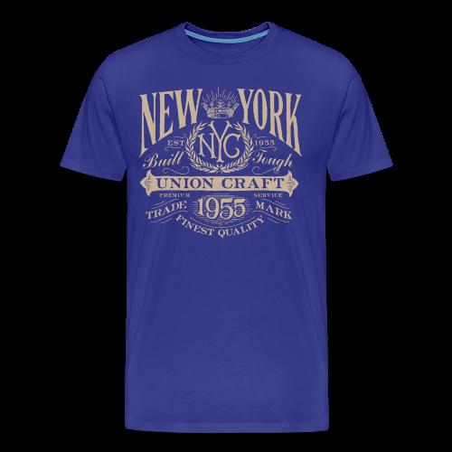 NYC Union Craft_cream - Men's Premium T-Shirt