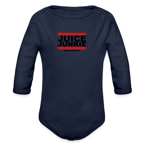 Womens V-Neck (Old school) - Organic Long Sleeve Baby Bodysuit