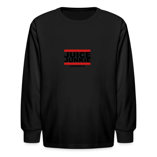 Womens V-Neck (Old school) - Kids' Long Sleeve T-Shirt