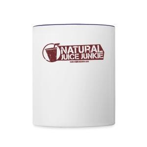 Womens V-Neck - Contrast Coffee Mug