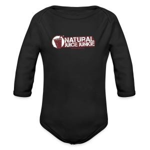 Womens V-Neck - Long Sleeve Baby Bodysuit