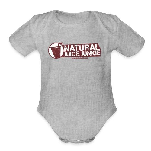 Womens V-Neck - Organic Short Sleeve Baby Bodysuit