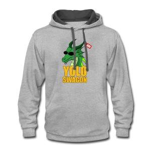Yolo Swagon (Women's) - Contrast Hoodie