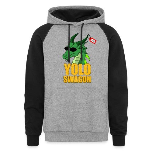 Yolo Swagon (Women's) - Colorblock Hoodie
