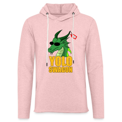 Yolo Swagon (Women's) - Unisex Lightweight Terry Hoodie