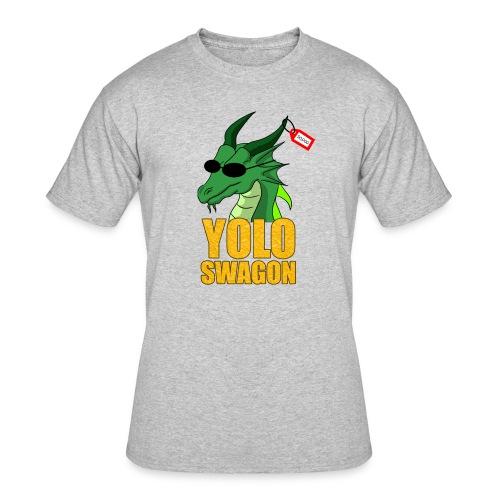 Yolo Swagon (Women's) - Men's 50/50 T-Shirt