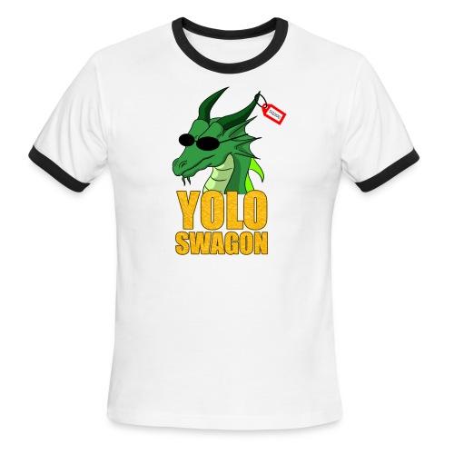 Yolo Swagon (Women's) - Men's Ringer T-Shirt
