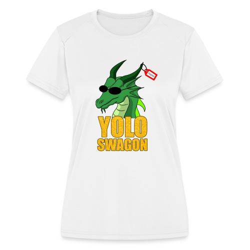 Yolo Swagon (Women's) - Women's Moisture Wicking Performance T-Shirt