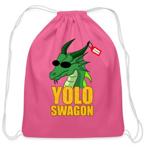 Yolo Swagon (Women's) - Cotton Drawstring Bag