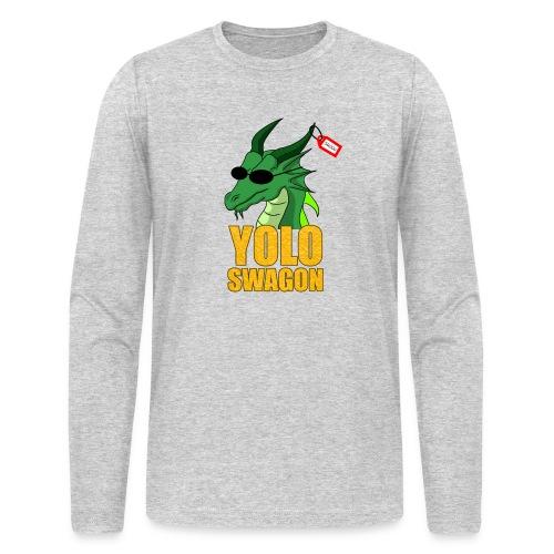 Yolo Swagon (Women's) - Men's Long Sleeve T-Shirt by Next Level