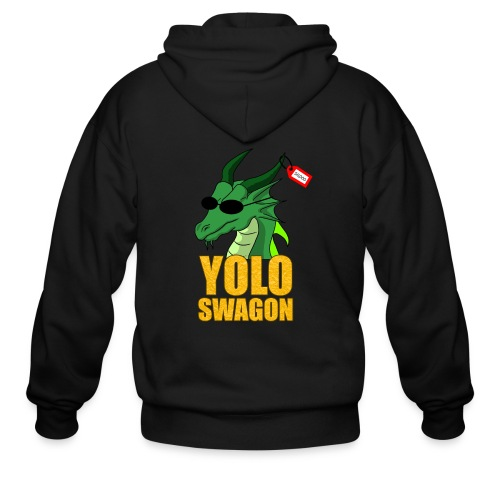 Yolo Swagon (Women's) - Men's Zip Hoodie
