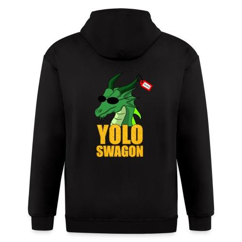 Yolo Swagon (Women's) - Men's Zip Hoodie