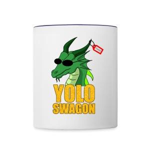 Yolo Swagon (Women's) - Contrast Coffee Mug