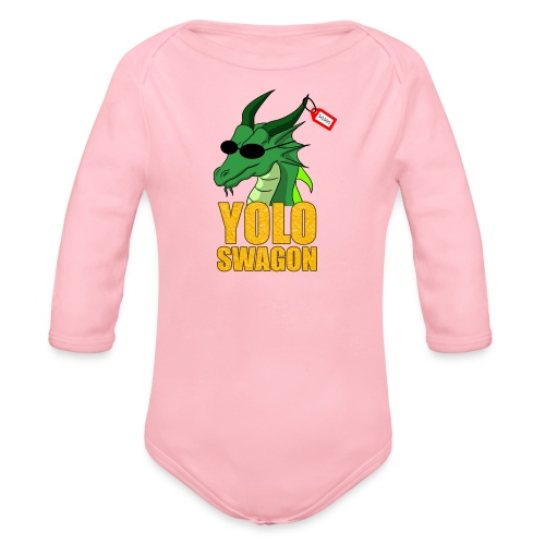 Yolo Swagon (Women's) - Organic Long Sleeve Baby Bodysuit