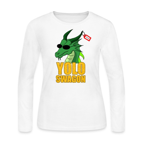 Yolo Swagon (Women's) - Women's Long Sleeve Jersey T-Shirt